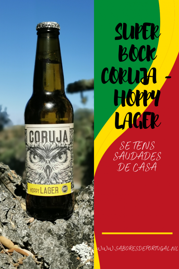 Super Bock Coruja - Hoppy Lager | SaboresDePortugal.nl