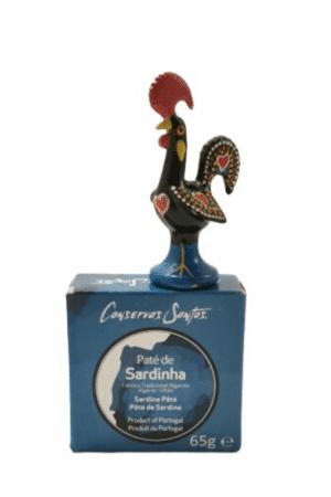 Conservas Santos Pate de Sardinha 65 | SaboresDePortugal.n;