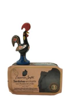 Coservas Santos - Sardinhas em azeite e limão | SaboresDePortugal.nl