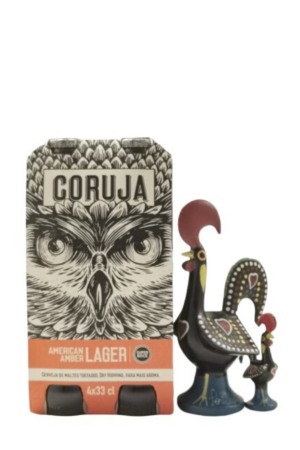 Coruja - American Amber Lager | SaboresDePortugal.nl