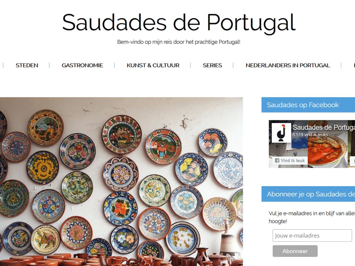Saudades de Portugal | SaboresDePortugal.nl