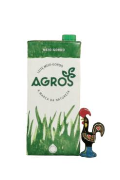 Agros - Leite Meio Gordo | SaboresDePortugal.nl