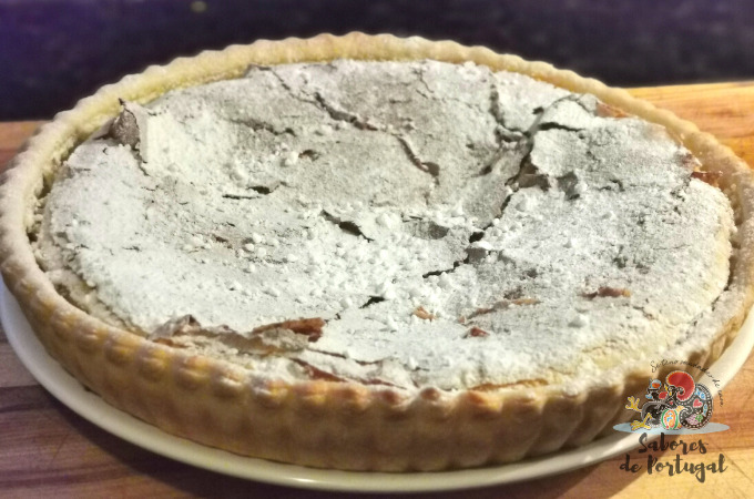 Torta de grão de bico - Portugees recept voor kikkererwtentaart   SaboresDePortugal.nl