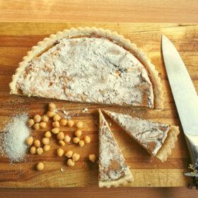 Torta de grão de bico | SaboresDePortugal.nl