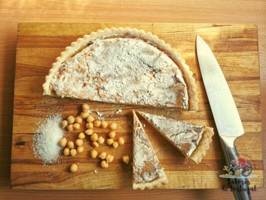 Torta de grão de bico   SaboresDePortugal.nl